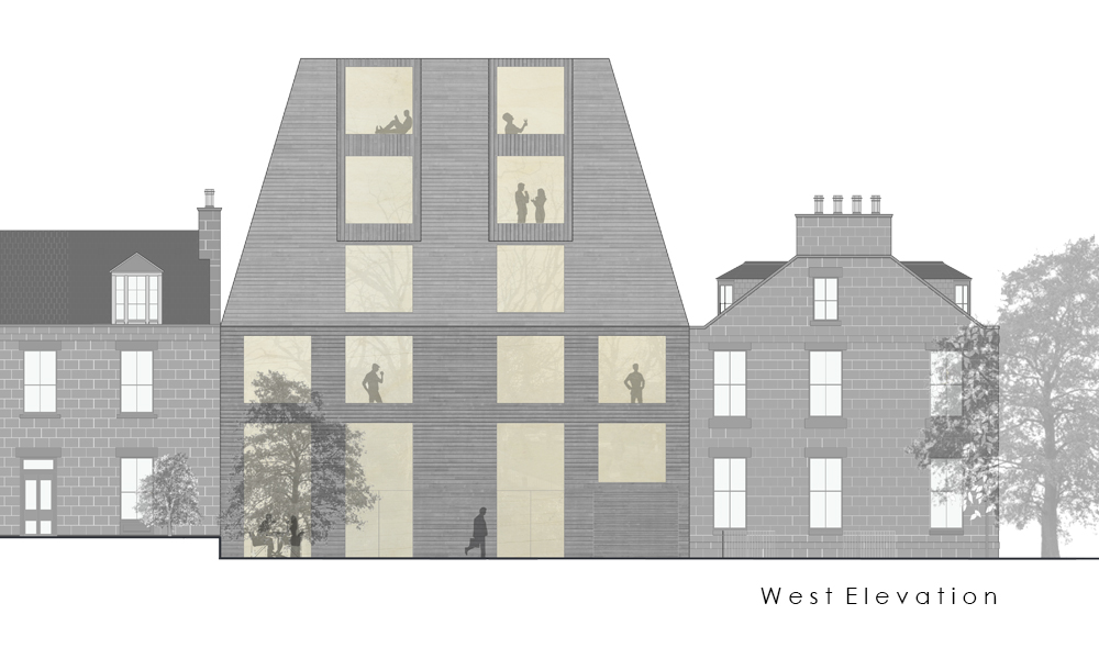 7 elevation west