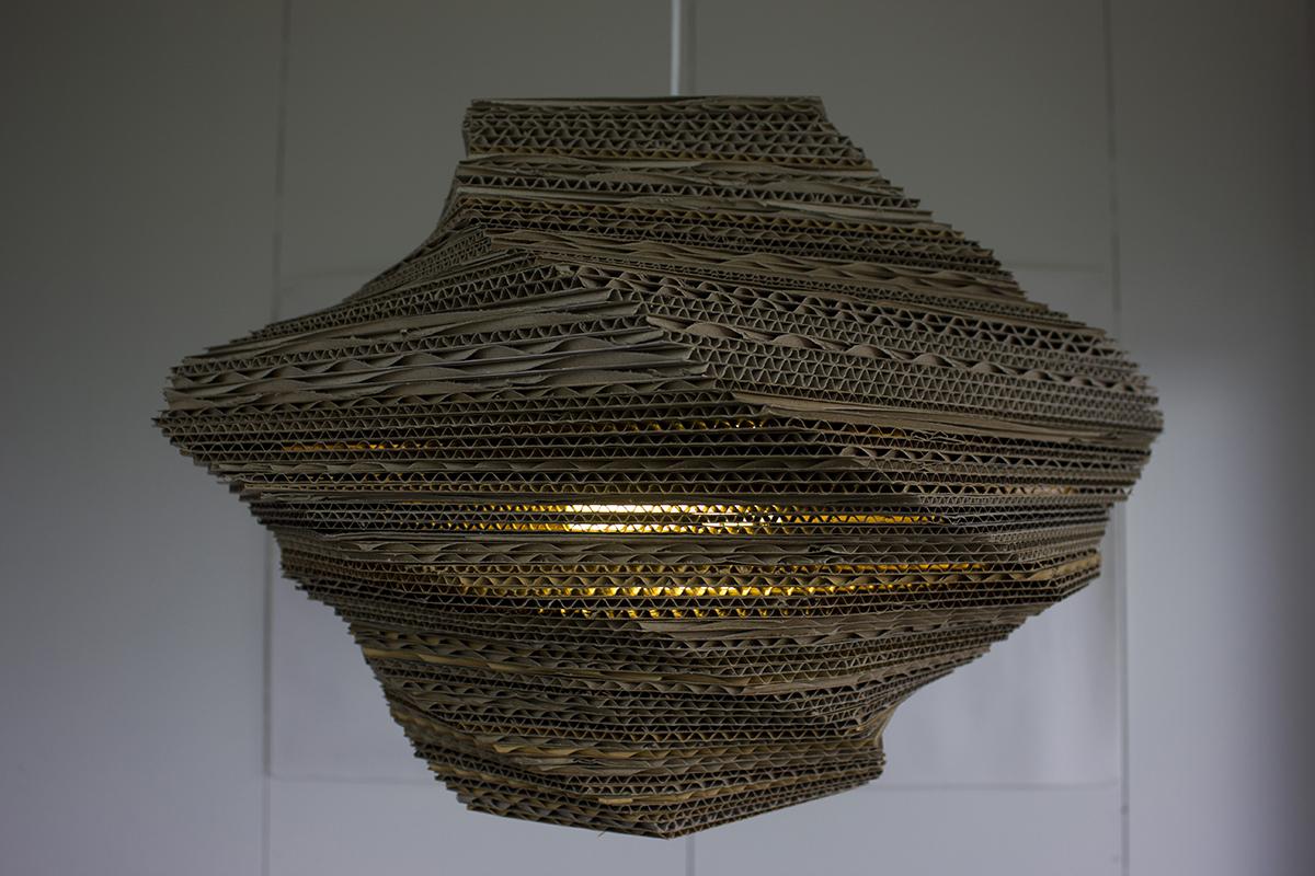 Cardboard lamp 002_web